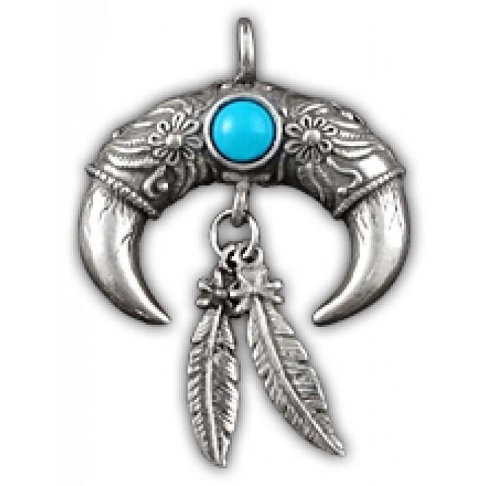 "Amulet protective totem ""Buffalo Horn"" 71140"