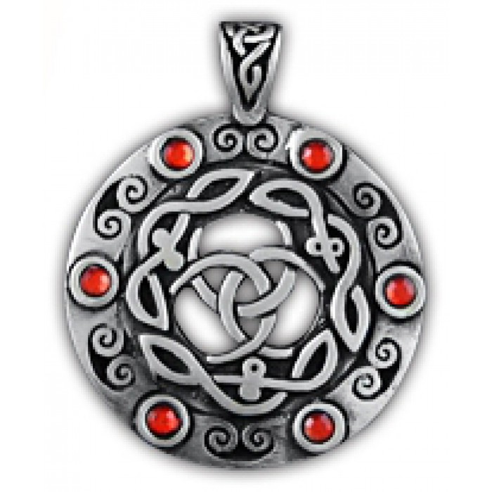 "Amulet protective totem ""Double Triskel"" 71142"