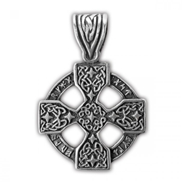 """Amulet protective nordic """"Runic cross"""" 71501"""