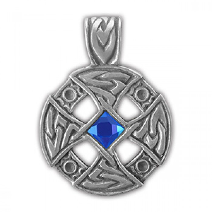 """Protective amulet Nordic """"Cross in the wheel"""" 71503"""
