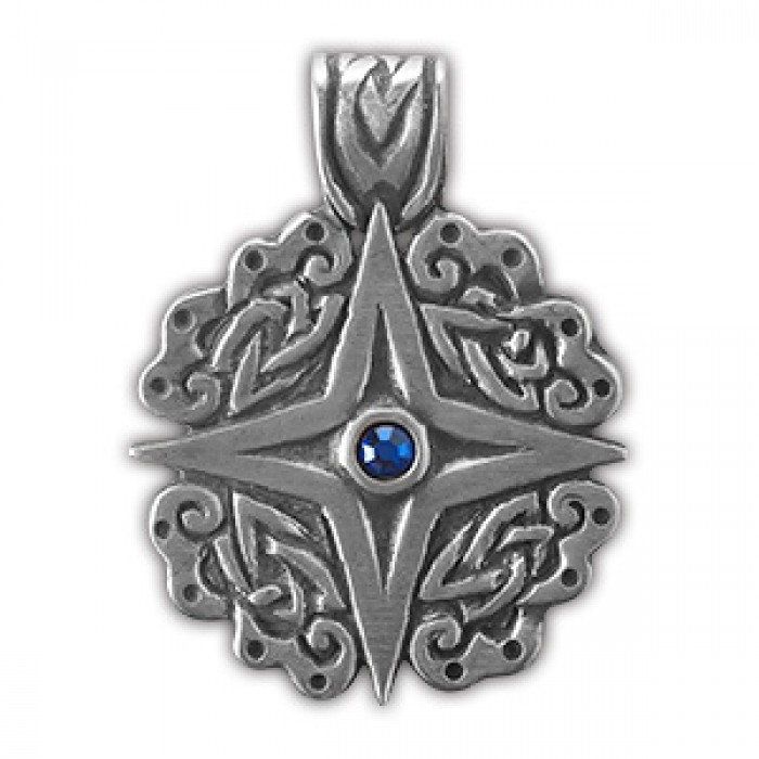 """Amulet protective nordic """"Earth star"""" 71504"""