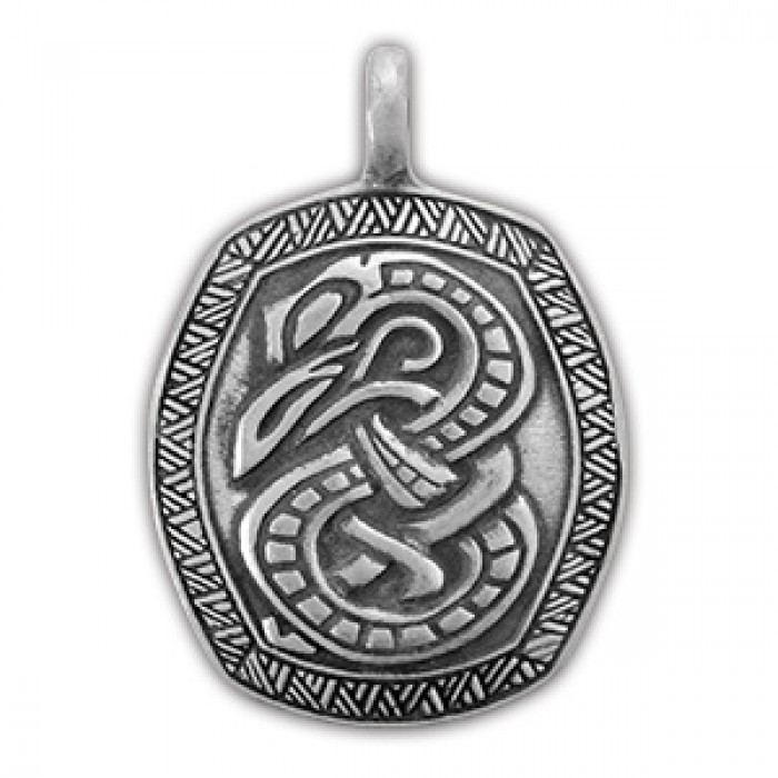 "Protective amulet Viking ""Serpent Jormungand"" 71525"