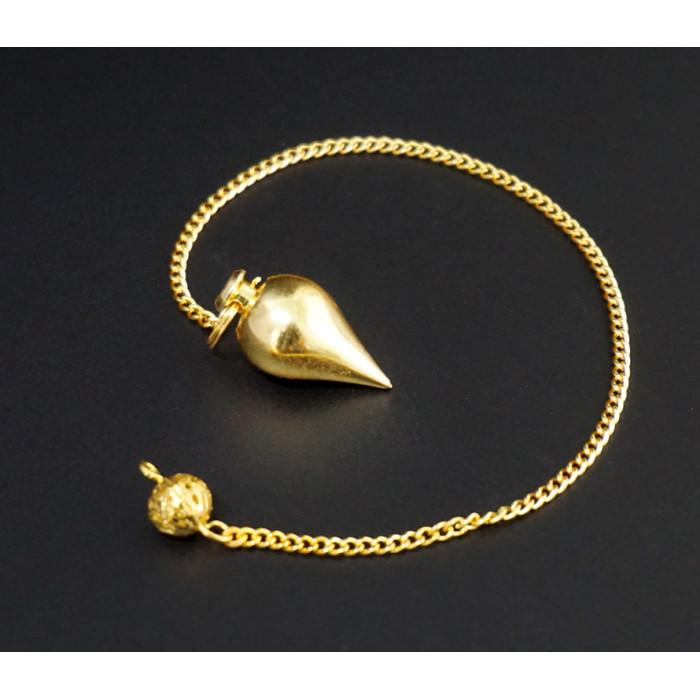 """Pendulum """"India"""" metal M.Pen-017 gold color"""