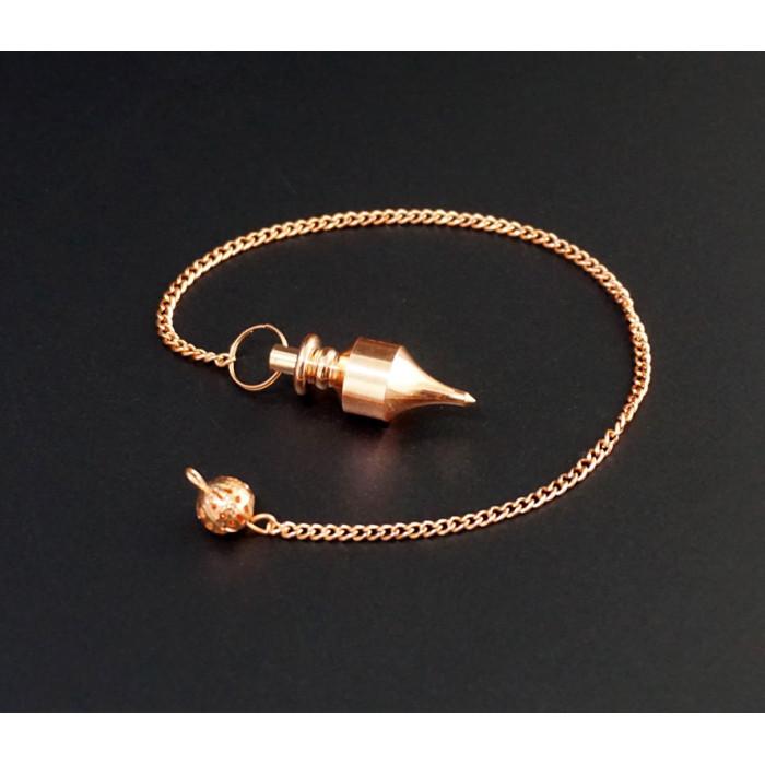 """Pendulum """"India"""" metal M.Pen-010 copper color"""