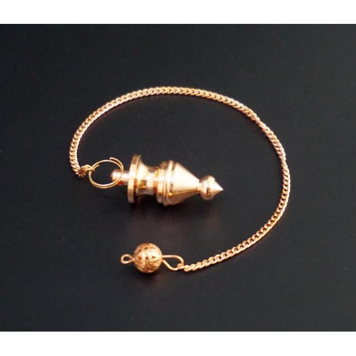 """Pendulum """"India"""" metal M.Pen-022 copper color"""