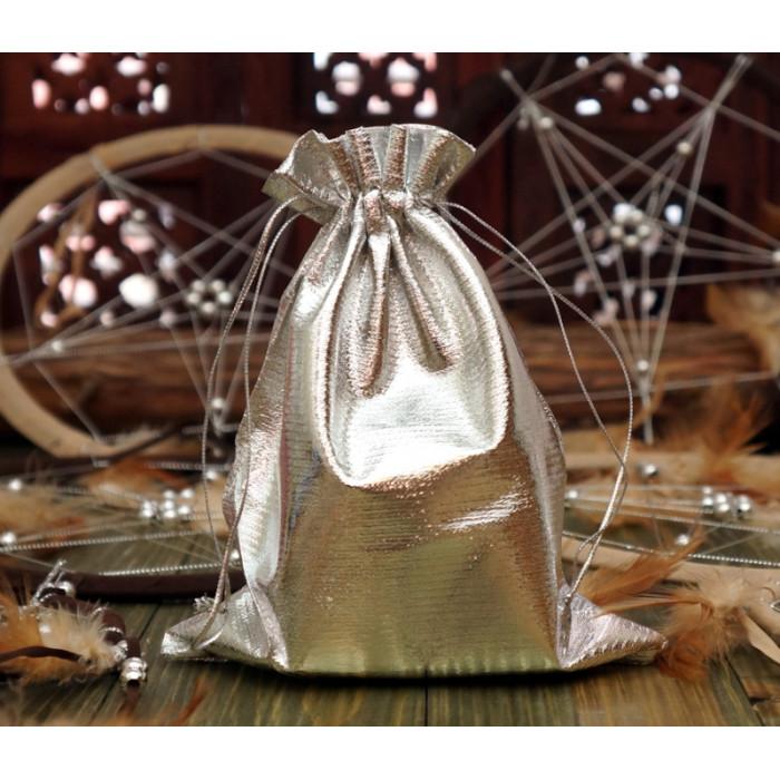 Мешочек из парчи Серебрянный