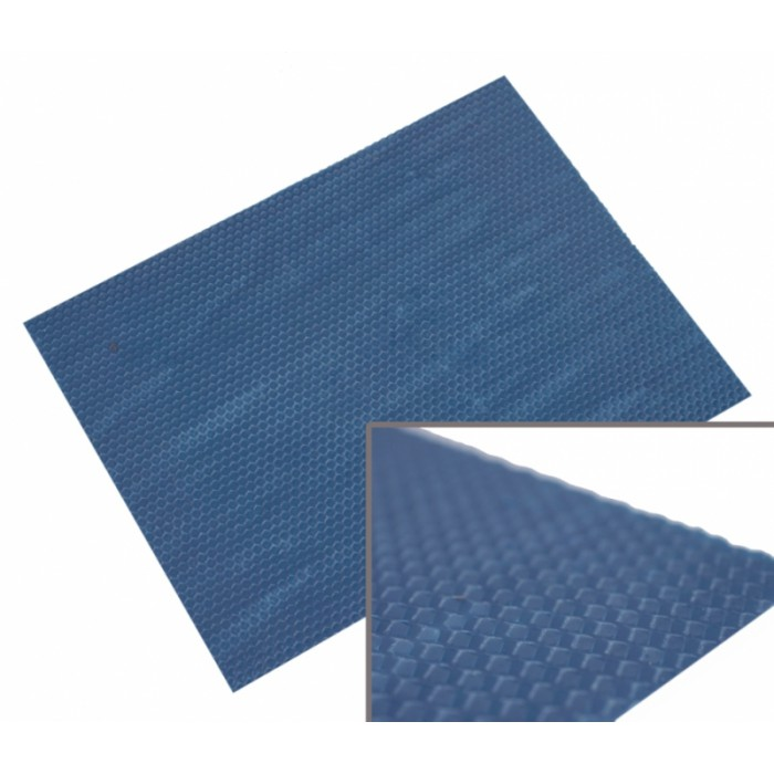 Colored foundation sheet 10 sheets Blue