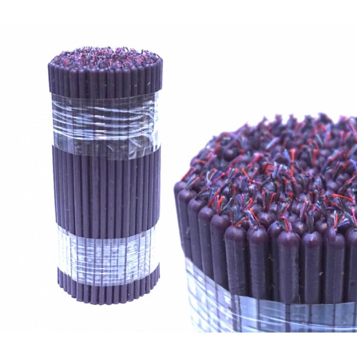 Magic wax candles bunch of 0.5 kg. Purple