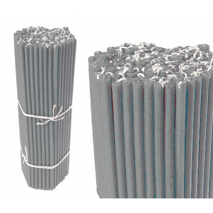 Candles wax bunch Silver No. 30