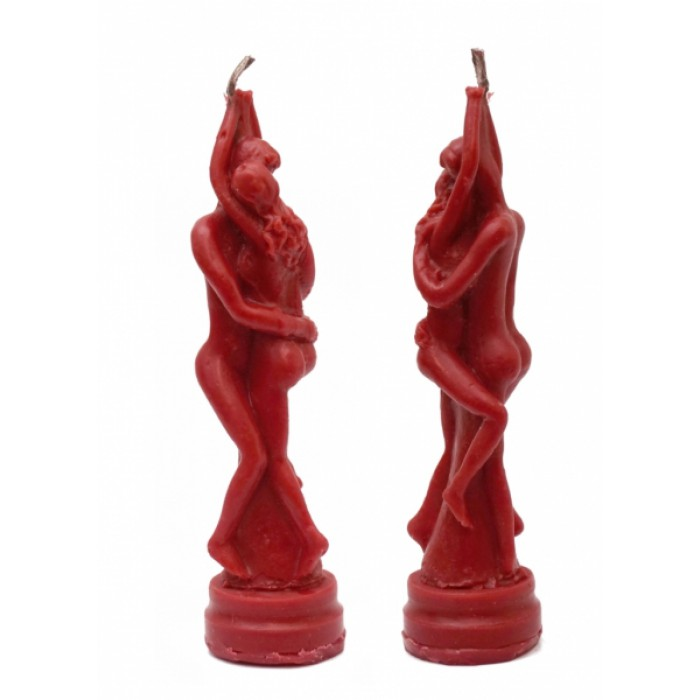 """Wax candle """"Stella of Love"""" Red"""
