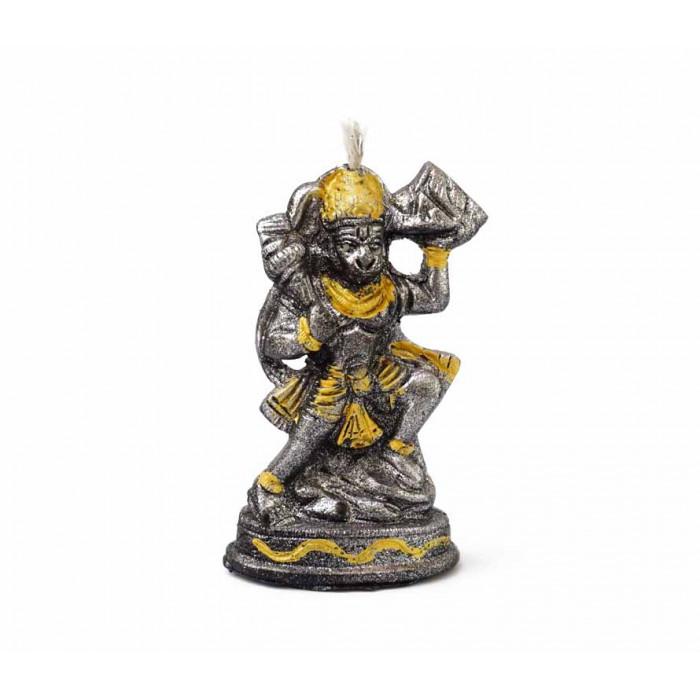 Hanuman wax candle