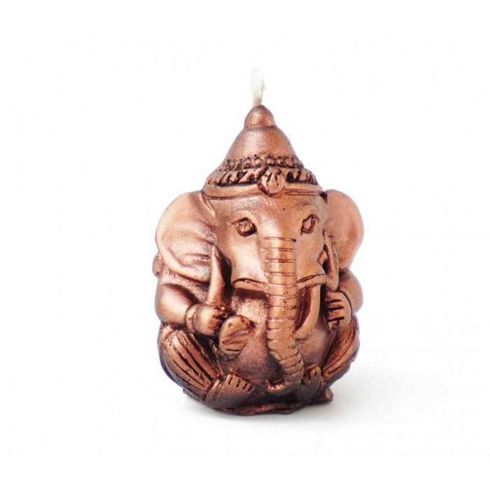 Wax candle Ganesh