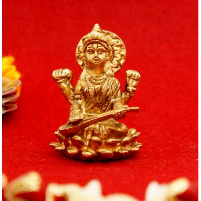 Bronze figurine Saraswati