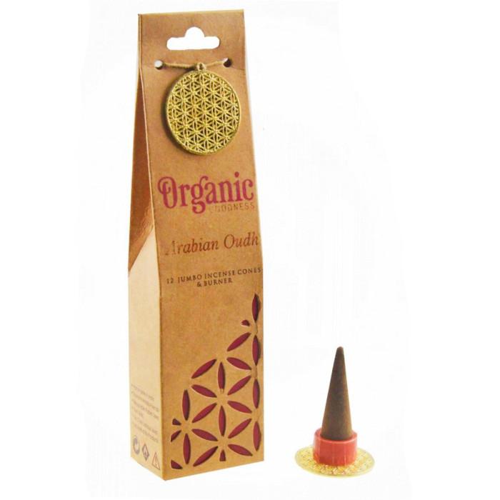 "Arabian Oud ""Organic Goodness"" Scented cones"