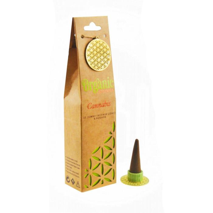 "Cannabis ""Organic Goodness"" Aromatic cones"