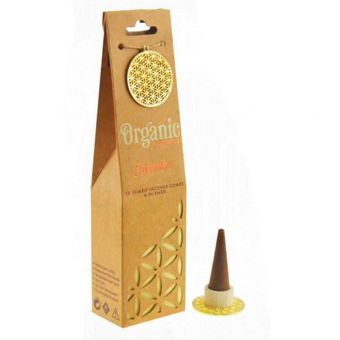 "Jasmine ""Organic Goodness"" Aromatic cones"