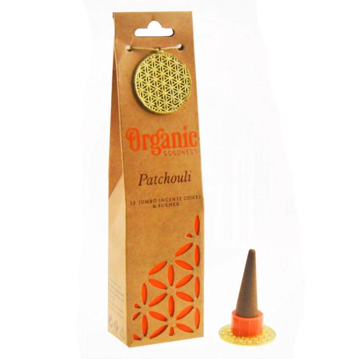 "Patchouli ""Organic Goodness"" Aromatic cones"