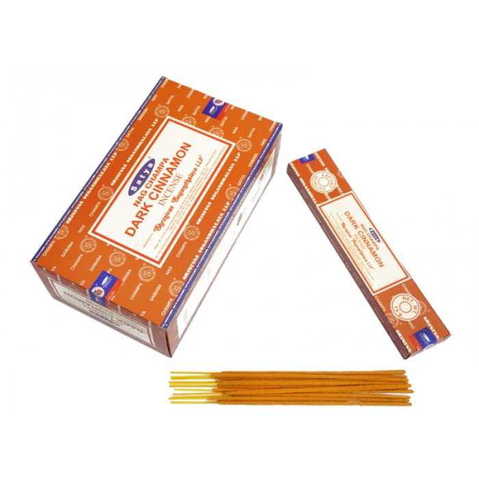 Satya Dark Cinnamon (flat pack) 15 grams
