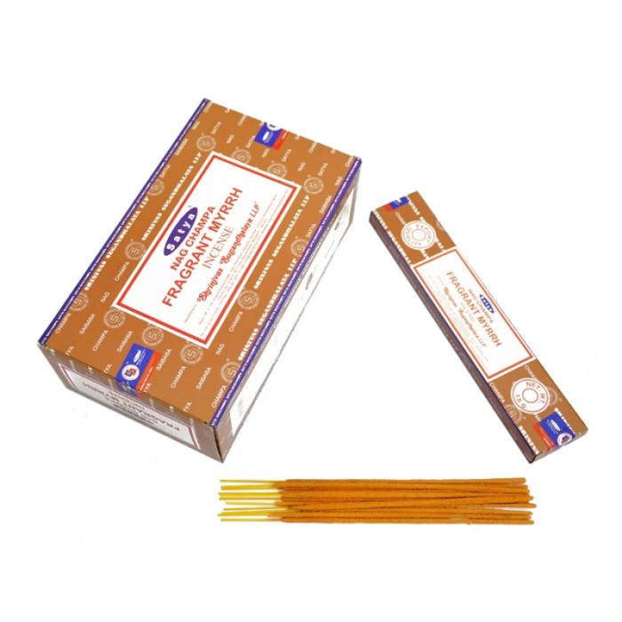 Satya Fragrant Myrrh (flat pack) 15 grams