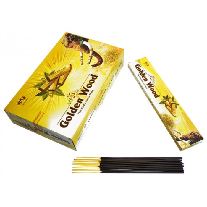 Golden Wood pure SANDAL (flat pack) 26 grams
