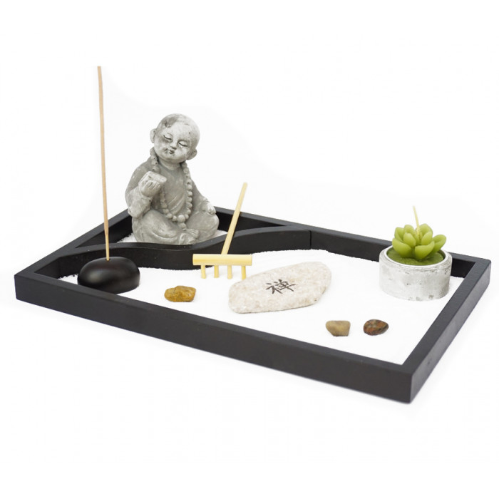 "Zen set ""Rock Garden"" Buddha №4"