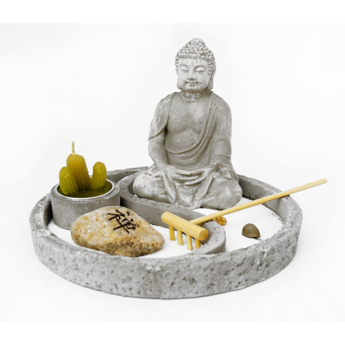 "Zen set ""Rock Garden"" Buddha №5"