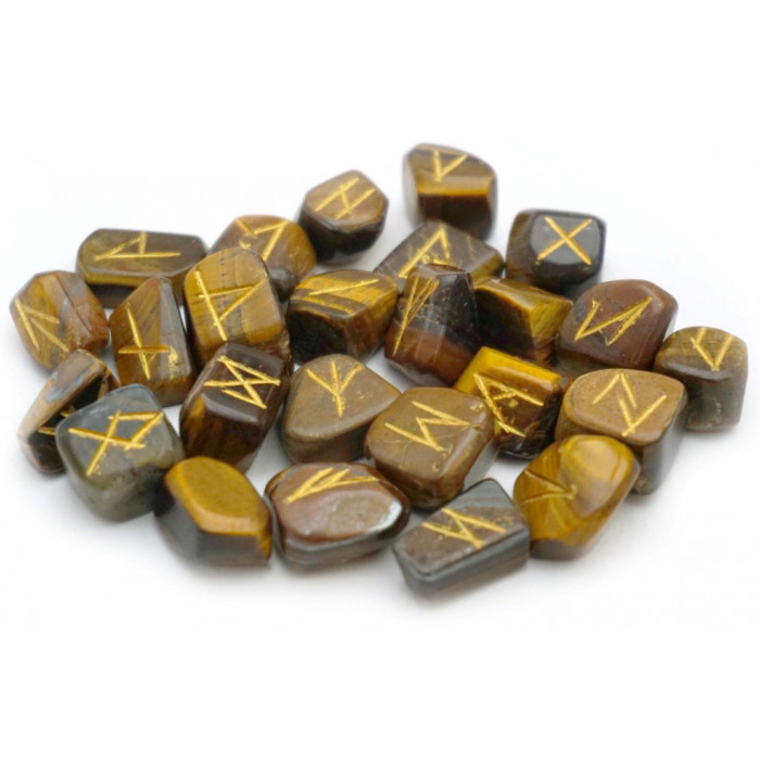 RUNE set for fortune telling from Tiger's Eye