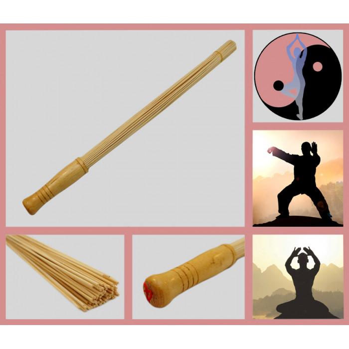 Bamboo massager