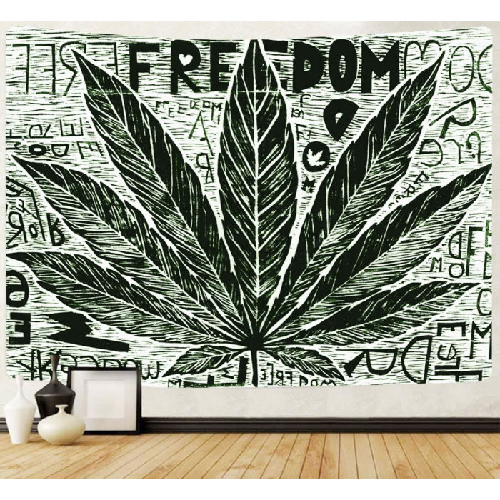"""Wall tapestry """"Cannabis"""" №34"""