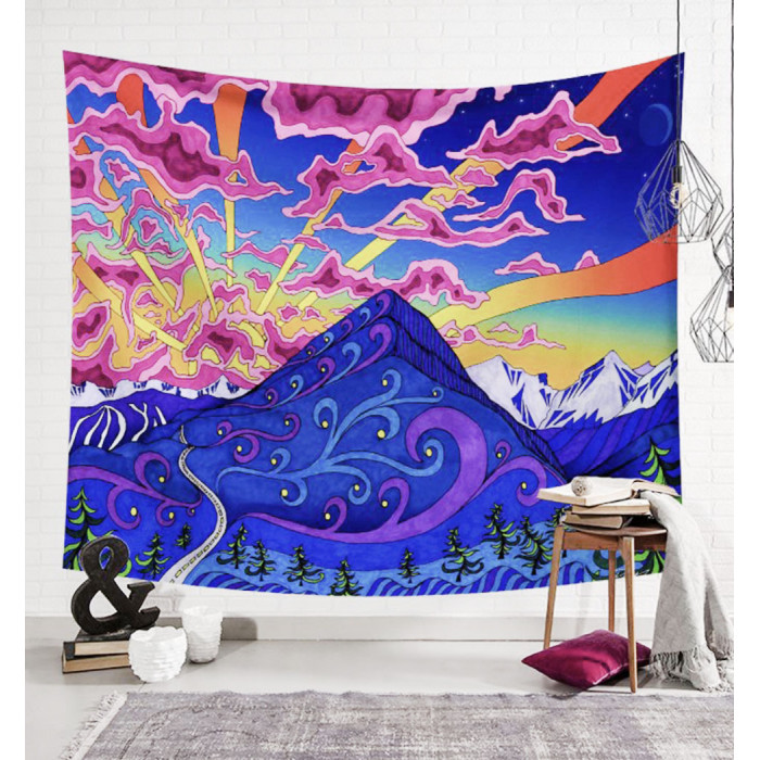 """Wall tapestry """"Dawn in the Himalayas"""" №41"""