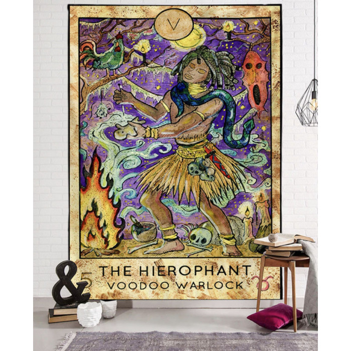 """Wall tapestry """"Arcanum the Hierophant"""" №58"""