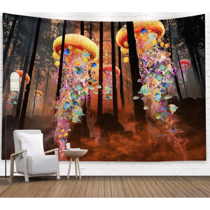 """Wall tapestry """"Fairy forest"""" No. 130"""