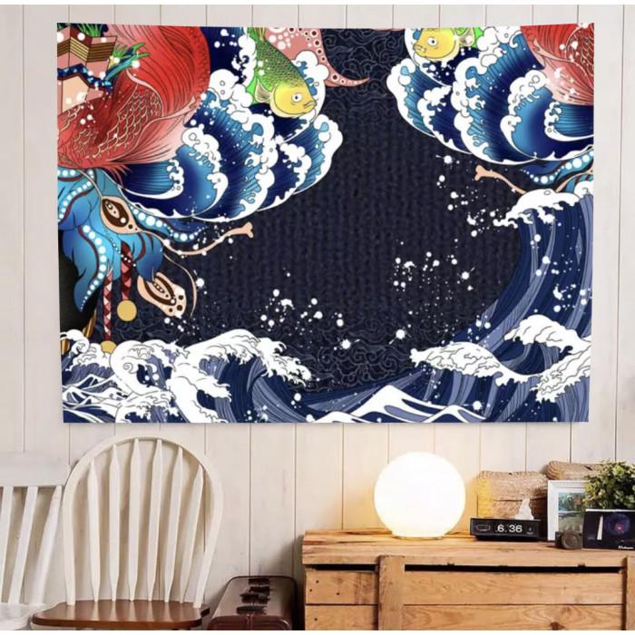 "Wall tapestry ""Carps"" №67"