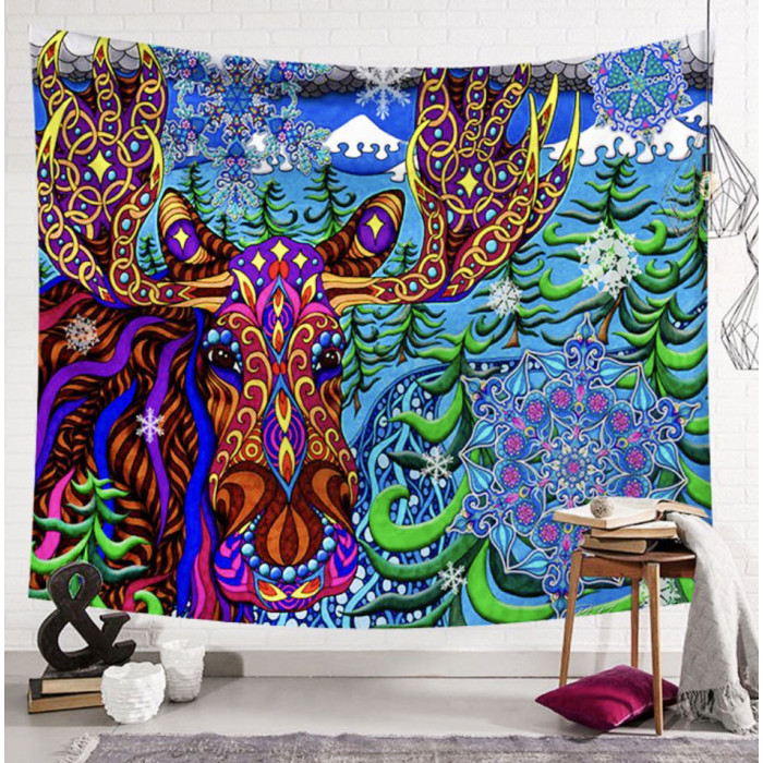 "Wall tapestry ""Elk"" No. 105"