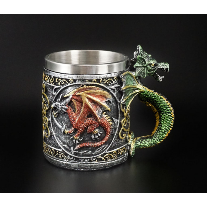 """Bowl """"Dragon"""" from polystone CUP-37"""
