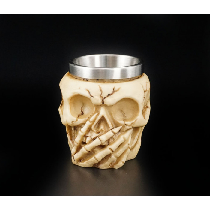 """Stack """"Skull"""" from polystone CUP-3"""