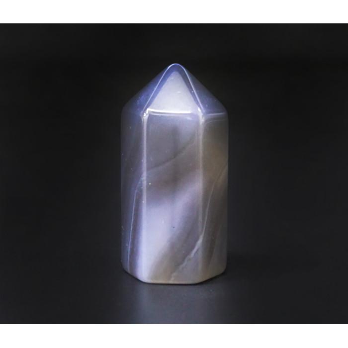 "Crystal ""Obelisk"" Hexagonal Smoky Quartz"