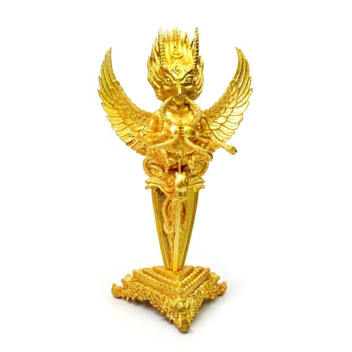 Purbu Garuda on a stand