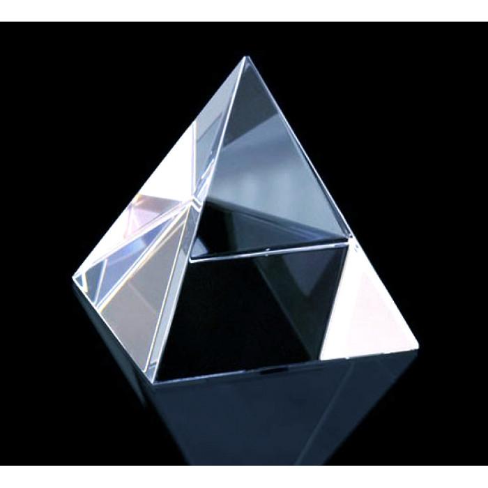 """Pyramid """"Crystal"""" 6.2 cm."""