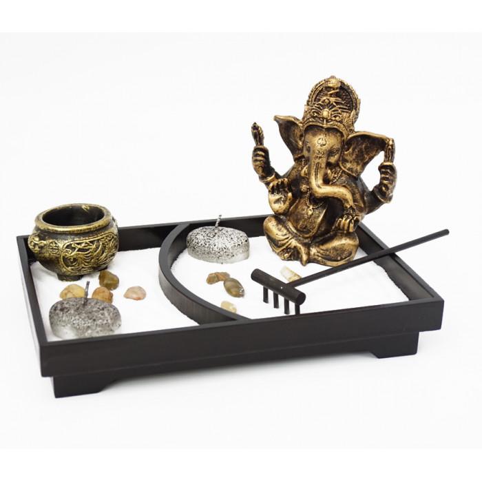 "Zen set ""Rock Garden"" Ganesh №1"