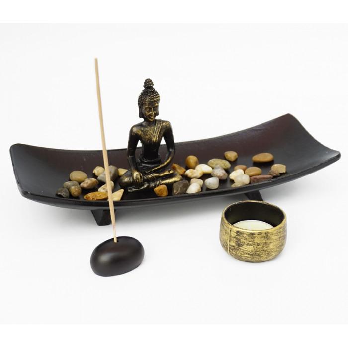 "Zen set ""Rock Garden"" Buddha №3"