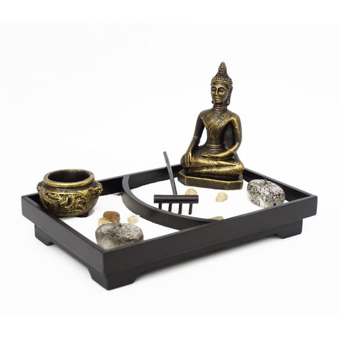 "Zen set ""Rock Garden"" Buddha # 1"