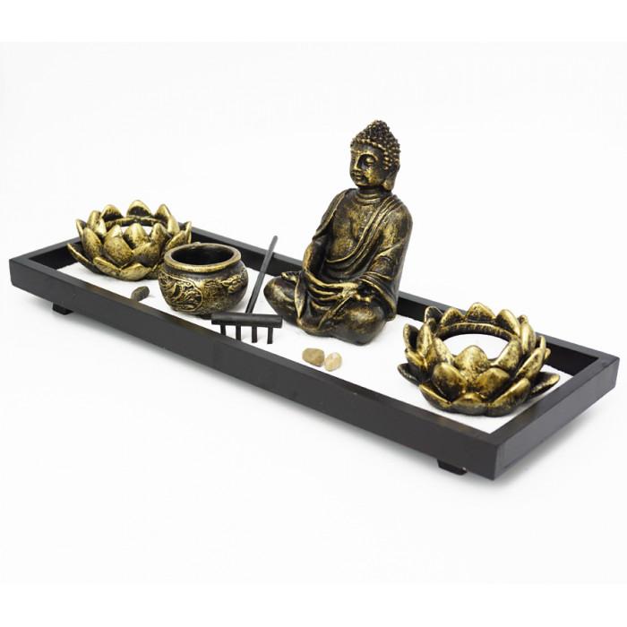 "Zen set ""Rock Garden"" Buddha №6"