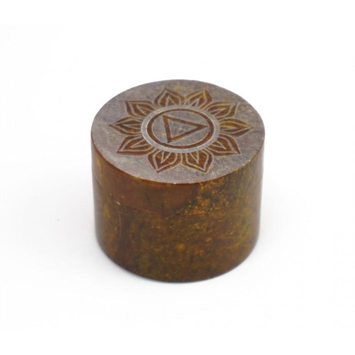 """Box of stone """"Manipura"""" KK-6"""