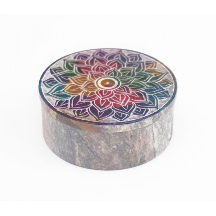"""Stone box """"Mandala"""" KK-32"""