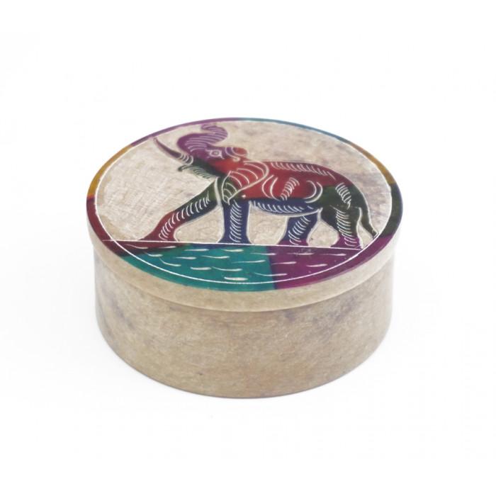 """Stone box """"Elephant"""" KK-33"""