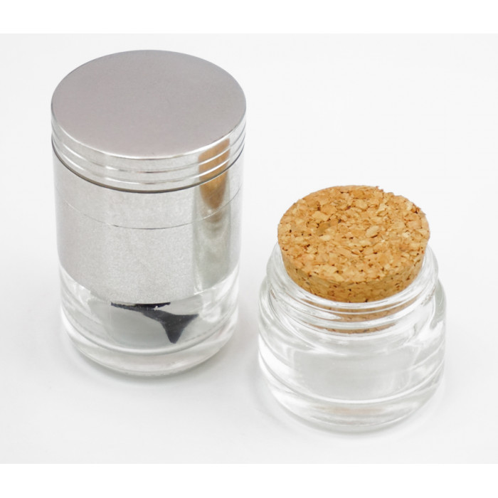 Aluminum grinder with can GR-153