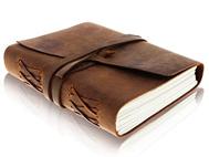Handmade notebooks, photo albums
